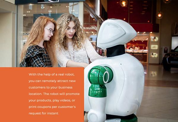 Robot for Retail in Las Vegas